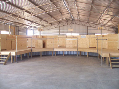 Kendrick Sheds - 5 stand shearing shed